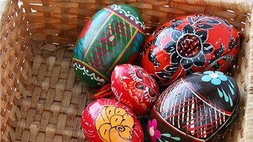 Koristeellisilla munilla on historia.