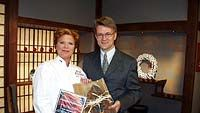 Maija Silvennoinen sai vuoden 2001 porkkana-palkinnon