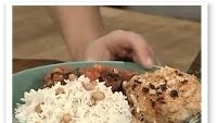 Sitruunabroileri ja kookosriisi
