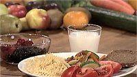 Diabeetikon kalkkuna-kasvisvokki ja marjoja