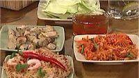 Orienttipikkujoulut: salaatit