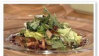Syksyinen salaatti Palacen tapaan