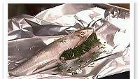 Kalaa foliossa