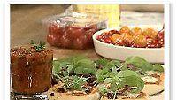 Tomaatti-mozzarellapizzat