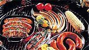 makkaroita grillissä