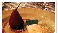 Punaviinipäärynät ja Mascarponejuustoa
