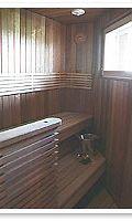 Sauna puhtaaksi