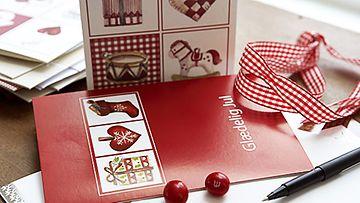 Nyt on aika lähettää joulukortit.
