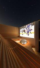 Arkkitehti Tomas Westerholmin suunnittelema katoton sauna.