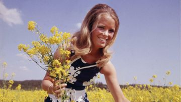 Miss Suomi 1969 Harriet Eriksson ihastutti kesällä 1970.