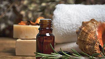 Aromaattiset tuoksut tehostavat saunahetken vaikutusta.