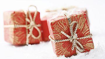 Tulitikkuaskeihin voi laittaa pienen pieniä lahjoja.