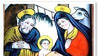 Jeesuksen syntymä, n.1850-1875 Jelenia Góran maakunnallinen museo, Puola