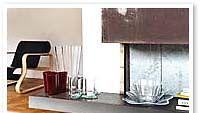 Aalto piirsi lasiesineensä kodinomaiseen tilaan.