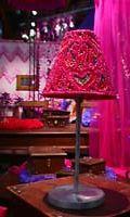 pinkki kynttilälamppu, Habitaren sisustusmessut 2001