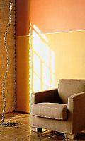 oranssi ja keltainen seinä