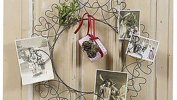 Sisustuskauppa Romanticon joulukranssi on kaunis ja yksinkertainen