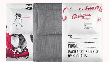 H&M Home -malliston joululamallistosta löytyy petivaatteet jokaiseen sänkyyn.