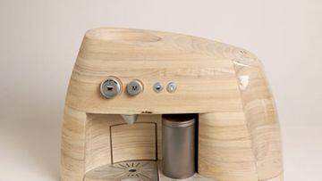 Puisen espressokeittimen suunnittelijat ovat ammentaneen inspiraatiota Norjan luonnosta.