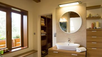 Kylpyhuoneen tulee olla rauhoittava, seesteinen tila.
