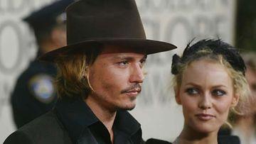 Johny Depp ja Vanessa Paradis