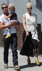 Gwen Stefan ja Gavin Rosdale shoppailemassa.