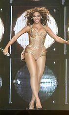 Beyonce muodokas vartalo vuonna 2009.