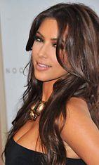Kim Kardashian on rikas seurapiirineiti.