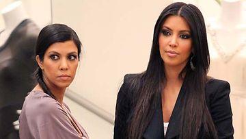 Kourtney ja Kim Kardashian