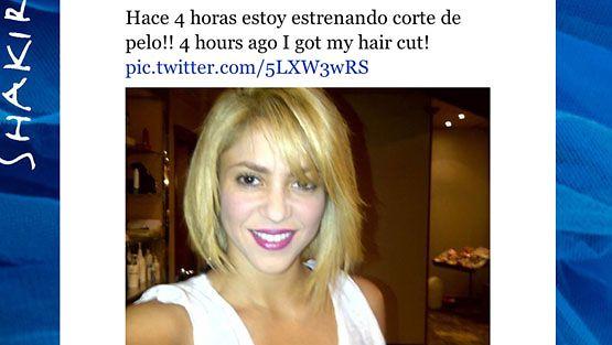 Shakira leikkasi hiuksensa