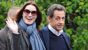 Carla Bruni-Sarkozy ja Nicolas Sarkozy