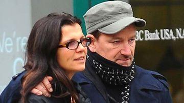 Bono ja  Ali Hewson