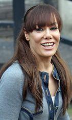 Tara Palmer-Tomkinsin kulmakarvat ovat epäöluonnollisen korkealla luultavasti Botoxin takia.