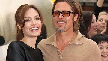 Brat Pitt ja Angelina Jolie