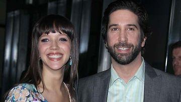 David Schwimmer ja Zoe Buckman