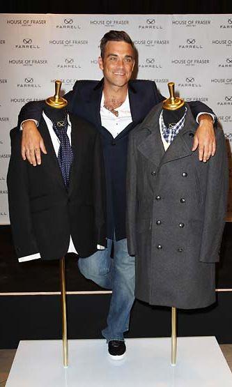 Robbie Williamsin vaatemalliston inspiraationa oli isoisä.