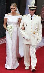 Ruhtinas Albert ja Charlene Wittstock vihittiin Monacossa. Vieraana Victoria Silvsted.