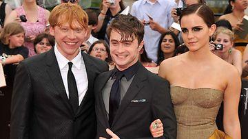 Emma Watson, Daniel Radcliffe ja Rupert Grint