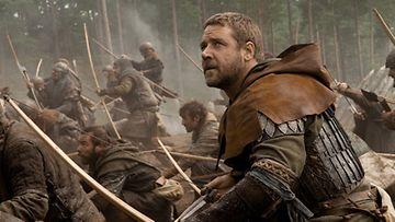 Russell Crowe elokuvassa Robin Hood (2010).