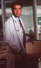 George Clooney hurmasi lääkärinä Teho-osastossa.
