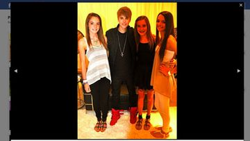 Justin Bieber ilahdutti faniaan Payton Wallia