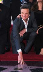 Colin Firthin tähti oli 2429. Walk Of Famella.