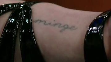 """""""Minge"""" on brittien slangisana naisen sukupuolielimille."""