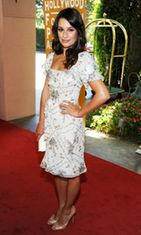 Lea Michele elokuussa 2011.