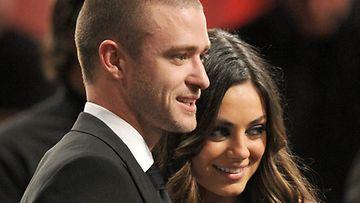 Justin Timberlake ja Mila Kunis.