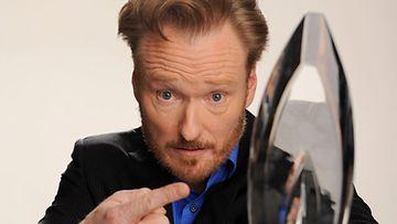 Conan O'Brien voitti parhaimman Talk Show -juontajan tittelin People's Choice Awardseissa.