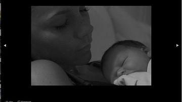 David ja Victoria Beckham jakoivat kuvan tyttärestään Harper Sevenistä