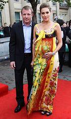 Guy Ritchie ja Jaqcui Ainsley heinäkuussa 2011.