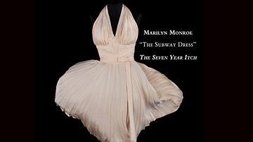 Marilyn Monroen puku elokuvasta Kesäleski