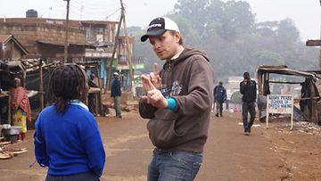 Burungo-lyhytelokuvaa kuvattiin Keniassa. (Kuva: Pamela Tola)